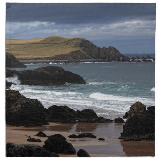 Sango Bay, Sutherland, Scotland Cloth Napkin
