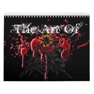 sangre, 001 (4), el arte de calendarios de pared