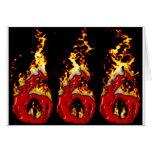 Sangre 666 y fuego tarjetón
