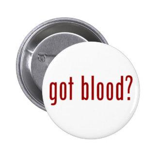 ¿sangre conseguida? botón