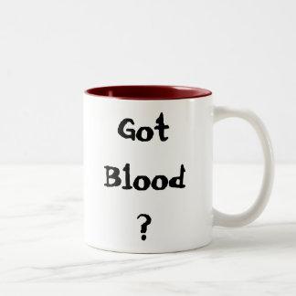 ¿Sangre conseguida? Tazas De Café