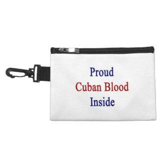 Sangre cubana orgullosa dentro
