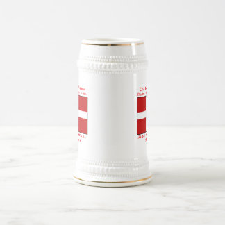 Sangre danesa y cerveza Viking Jarra De Cerveza