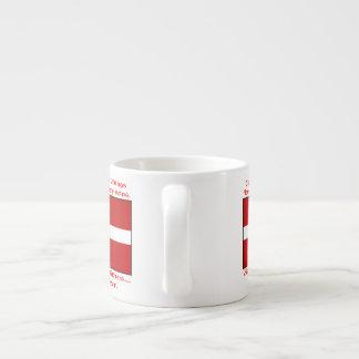 Sangre danesa y cerveza Viking Taza Espresso