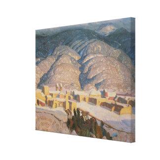 Sangre De Cristo Mountains Canvas Print