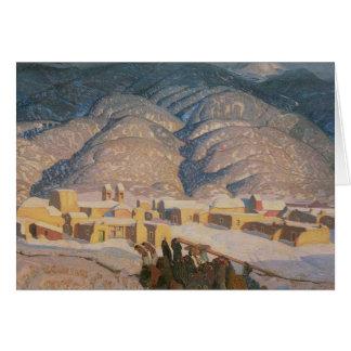 Sangre De Cristo Mountains Greeting Card