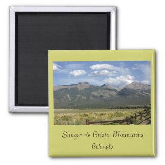Sangre de Cristo Mountains Magnet