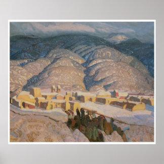 Sangre de Cristo Mountains, Poster