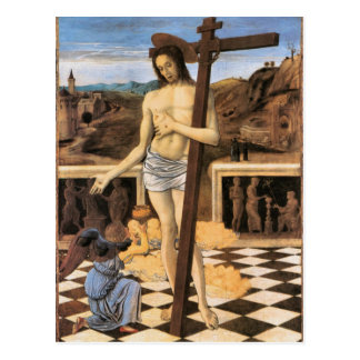 Sangre de Jesús de la postal religiosa del redento