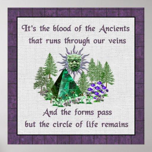 Sangre de los Ancients Póster
