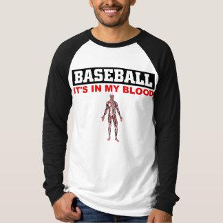 Sangre del béisbol playera