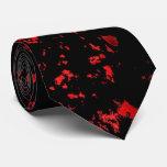 Sangre del lazo de Halloween del horror Corbatas Personalizadas