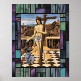 Sangre del poster del ángel de Bellini Jesús del r