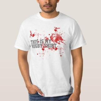 Sangre del rugbi playeras