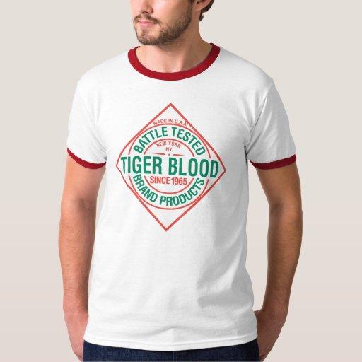 Sangre del tigre playeras