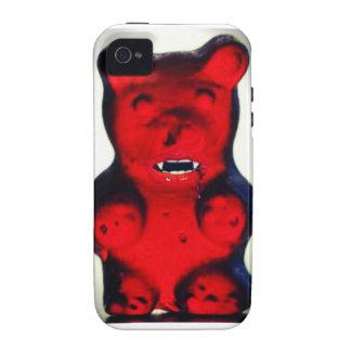 Sangre gigante que chupa el oso del caramelo vibe iPhone 4 fundas