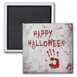 Sangre Handprint Halloween - imán