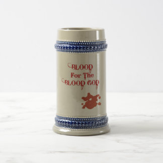 sangre para la copia de dios de la sangre jarra de cerveza