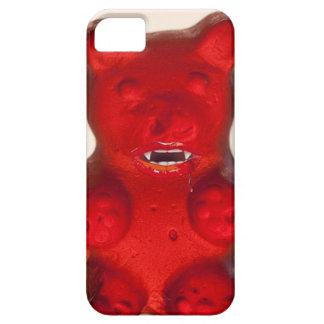 Sangre que chupa el oso del caramelo iPhone 5 cárcasa