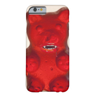 Sangre que chupa el oso del caramelo funda de iPhone 6 barely there