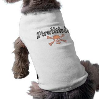 Sangre Rogelio alegre de Pirattitude Camisetas Mascota