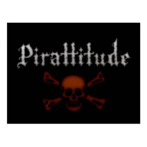 Sangre Rogelio alegre de Pirattitude Tarjetas Postales