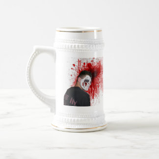 sangre, sangre jarra de cerveza