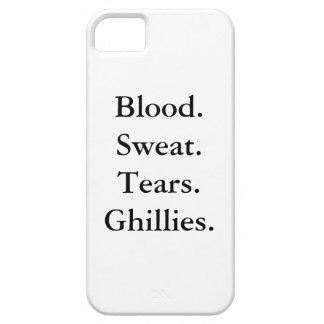 SANGRE. SUDOR. RASGONES. GHILLIES. caso del iPhone iPhone 5 Case-Mate Cobertura