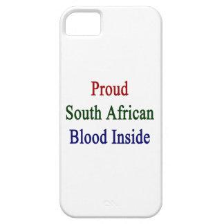 Sangre surafricana orgullosa dentro funda para iPhone SE/5/5s