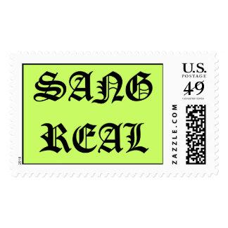 SANGREAL, CANTÓ REAL - sello