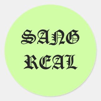 SANGREAL, sang real - stickers
