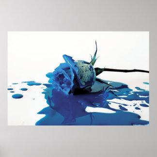 Sangría azul subió póster