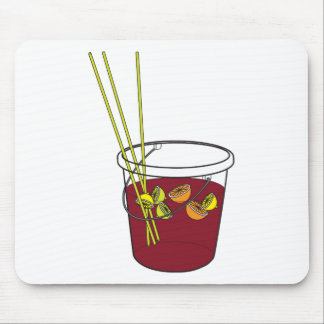 Sangria bucket mouse pad
