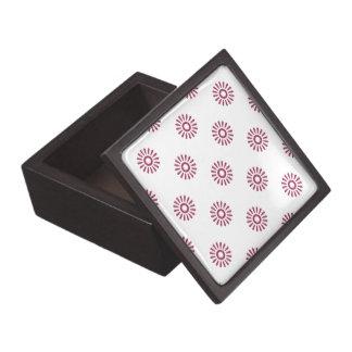 Sangría del estampado de plores 6 caja de recuerdo de calidad