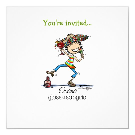 Sangria Fiesta Invitations