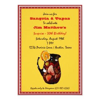 Sangria Invitation
