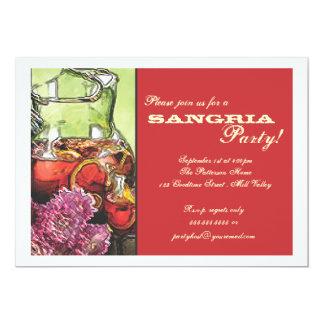 Sangria Party Invitation