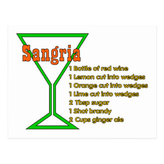 Sangria Post Cards