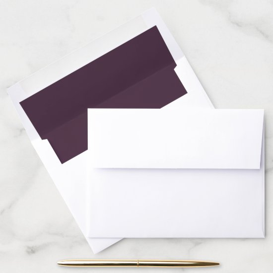 Sangria Purple | Envelope Liner