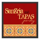Sangria & Tapas Party! Happy Fiesta Invitation