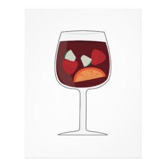 Sangria Wine Letterhead