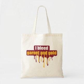 Sangro el granate y el oro… bolsa tela barata