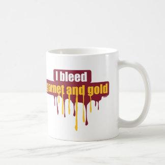 Sangro el granate y el oro… taza clásica