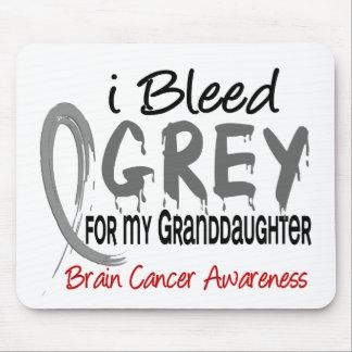 Sangro el gris para mi cáncer de cerebro de la nie tapetes de raton