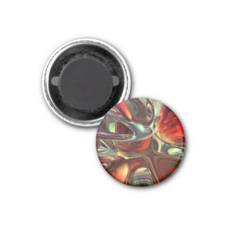 Sanguine Abstract Refrigerator Magnet