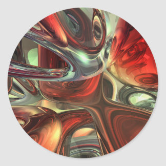 Sanguine Abstract Sticker