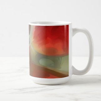 Sanguine Pastel Abstract Coffee Mug