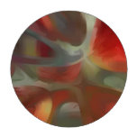 Sanguine Pastel Abstract Poker Chips