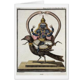 Sani, from 'Voyage aux Indes et a la Chine' by Pie Card