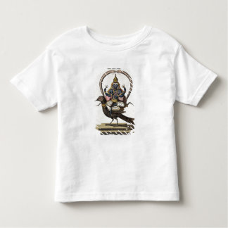 Sani, from 'Voyage aux Indes et a la Chine' by Pie Toddler T-shirt